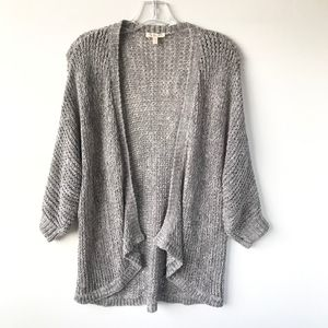 Eileen Fisher Knit Open Front Cardigan #420